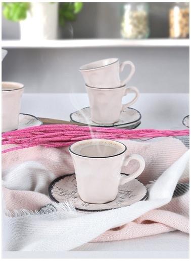 Keramika Kahve Takımı Beyaz